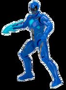Blue Zordon Morphin Ranger Figure
