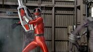 Gokai Change 35 TimeRed