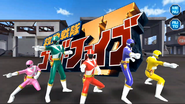 Kyukyu Sentai GoGoFive in Super Sentai Legacy Wars