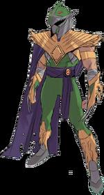 MMPR Boom-Shredder Green Ranger