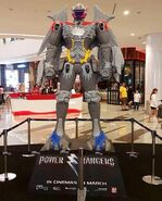 Megazord human-sized model