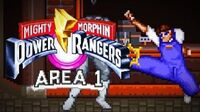 Mighty Morphin Power Rangers (SNES) - Area 1