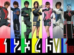 Dekarangers Uniforms
