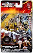 Ultra Metallic Force Black Ranger