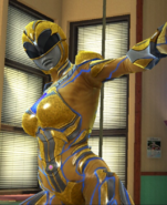 Legacy Wars Yellow Ranger 2017 Movie Victory Pose