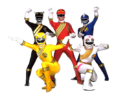 Power Rangers Wild Force (Team)