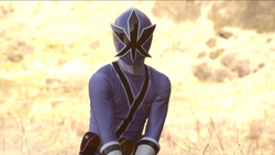 Samurai Blue Ranger 01