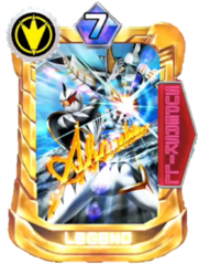 AbareKiller Card in Super Sentai Legend Wars