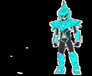 Cyan Miniforce Ranger