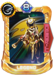 Go-on Gold Card in Super Sentai Legend Wars