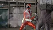Gokai Change 35 GoRed