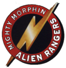 Mighty Morphin Alien Rangers Logo