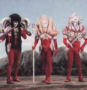 3 Nimrods the Scarlet Sentinel