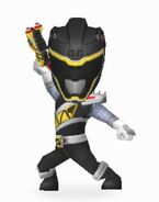 Black Dino Super Charge Ranger In Power Rangers Dash