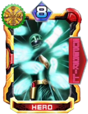 OhGreen Card in Super Sentai Legend Wars