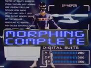 Blue Space Ranger Morph 2