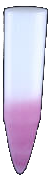 Pink sub-crystal