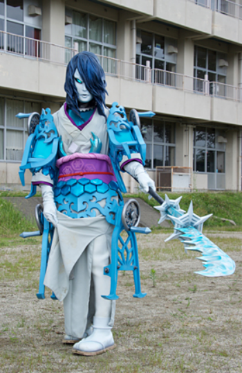 Yokai Yuki Onna Rangerwiki Fandom Powered By Wikia