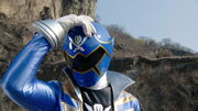 Gokai Blue (Super Hero Taisen)