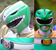 Green Ranger Comparation