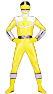 Yellow Time Force Ranger