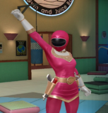 Legacy Wars Pink Zeo Ranger Victory Pose
