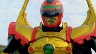 Power Rangers Operation Overdrive - Red Sentinel Ranger Battlizer Morph and Fight (Things Not Said)-1