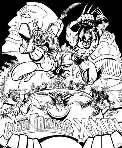 X-men & power rangers - Imgur