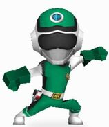 Green Prism Ranger in Power Rangers Dash