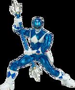 Legacy MMPR Blue Ranger Metallic