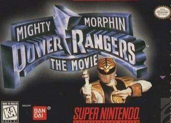 Mighty Morphin Power Rangers The Movie Video Game Rangerwiki