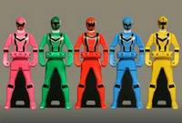 Magiranger Ranger Keys