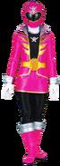 Pink Super Megaforce Ranger