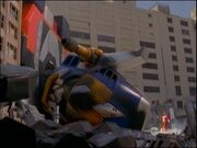 Megazord and Red Ranger