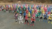 SHT All Riders and Sentai