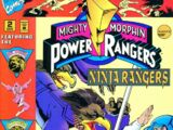 Mighty Morphin Power Rangers: Ninja Rangers Issue 2