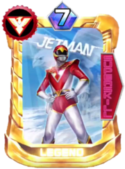 Red Hawk Card in Super Sentai Legend Wars