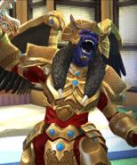 Legacy Wars Goldar Victory Pose