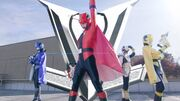 Lupinrangers with Lupin X