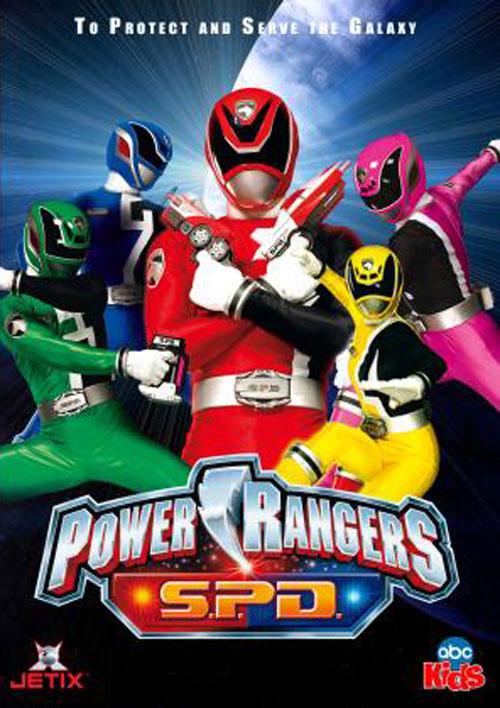 Power Rangers Spd Rangers