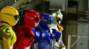 ZSK VS GB-Go-Busters and Kyoryu Silver