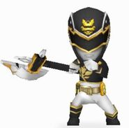 Black Megaforce Ranger In Power Rangers Dash