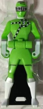 ToQ 3 Green Ranger Key