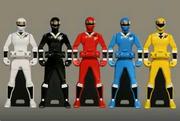 Kakuranger Ranger Keys