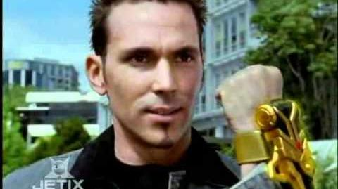Power Rangers Dino Thunder - Tommy becomes the Black Ranger (Back in Black Episode)
