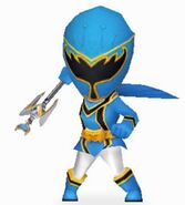 Blue Mystic Ranger in Power Rangers Dash