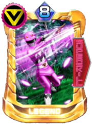 GingaPink Card in Super Sentai Legend Wars
