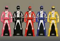 Boukenger Ranger Keys