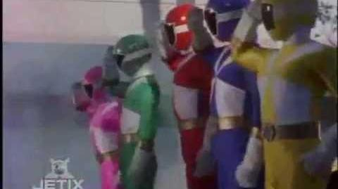 Power Rangers Lightspeed Rescue - Power Rangers First Morph