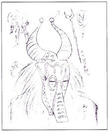 Horn-mask